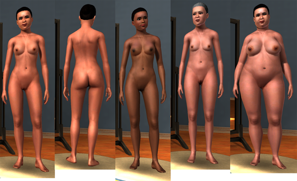 The sims 2 naked nudist mod